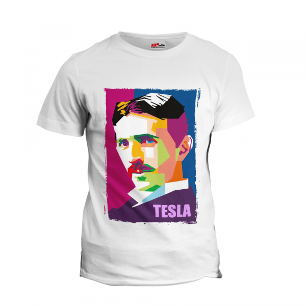 "DESIGN MAJICA  MUŠKA -  ""TESLA COLOR"""